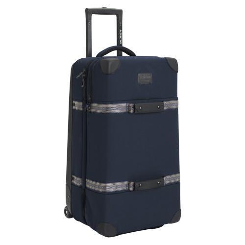 BURTON バートン Wheelie Double Deck Travel Bag スーツケース キャリーバッグ Dress 青 Waxed