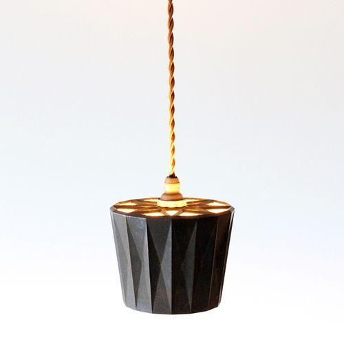 照明器具 FUTAGAMI 真鍮のペンダントランプ 星影 黒ムラ