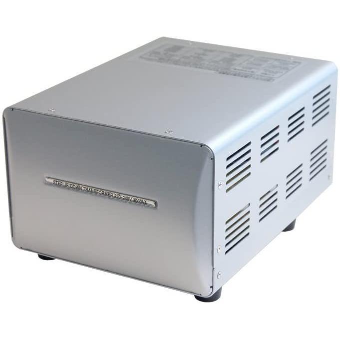 カシムラ 海外国内用大型変圧器 アップダウントランス スピード対応 全国送料無料 100V NTI-119 メーカー取寄 220-240V 人気商品