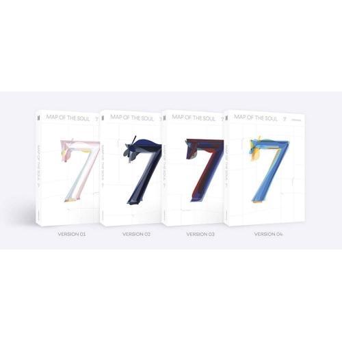取寄商品 CD BTS Map Of The 輸入盤 Soul 返品送料無料 : 在庫限り 7 ランダムバージョン