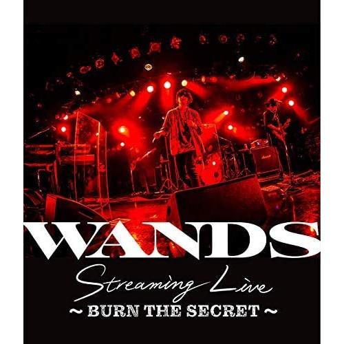 ☆新作入荷☆新品 BD WANDS Streaming Live Blu-ray SECRET〜 〜BURN オープニング 大放出セール THE