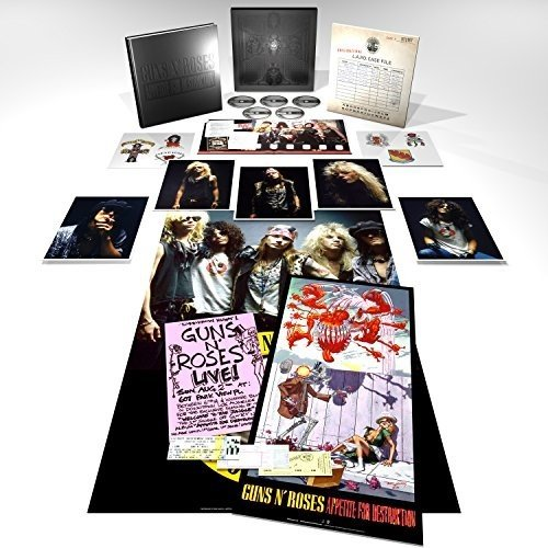 CD/ガンズ·アンド·ローゼズ/アペタイト·フォー·ディストラクション: スーパー·デラックス·エディション (4SHM-CD+Blu-ray(Blu-ray Audio+Blu-ray Video))