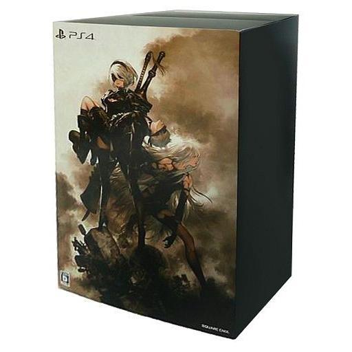 中古PS4ソフト NieR Automata(ニーア オートマタ) [黒 Box Edition]