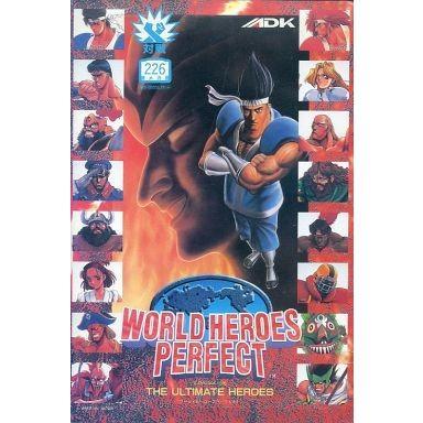中古ネオジオROMソフト ワールドヒーローズ パーフェクト(ROMカセット)