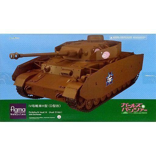 中古フィギュア figma Vehicles IV号戦車D型改 H型仕様 「ガールズ&パンツァー」 ワンダーフェス
