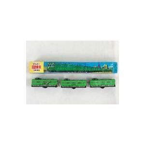 中古おもちゃ [破損品] ブリキ玩具 ぜんまい国鉄電車