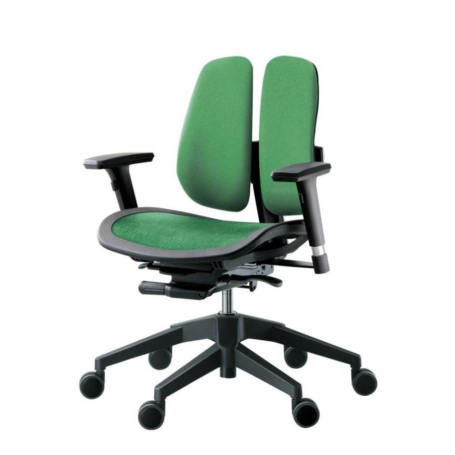 回転椅子 α60N (MESH 緑)(家具 イス テーブル)