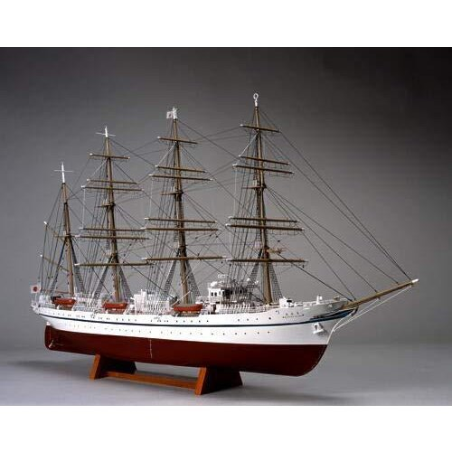 ウッディジョー 1/160 日本丸 帆無 木製帆船模型 組立キット