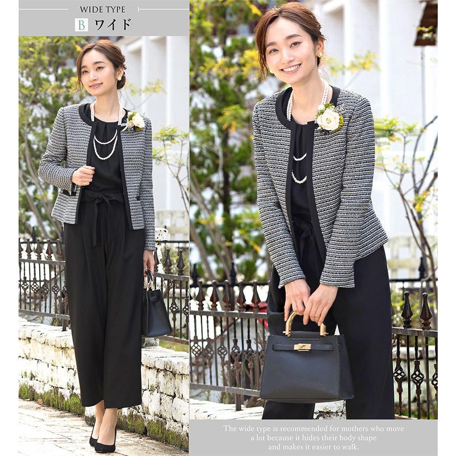スーツ 卒業式 レディース 入学式 服装 ママ パンツスーツ 30代 40代 セレモニースーツ ワンピース 3点セット 大きいサイズ セットアップ|sutekitaiken|20