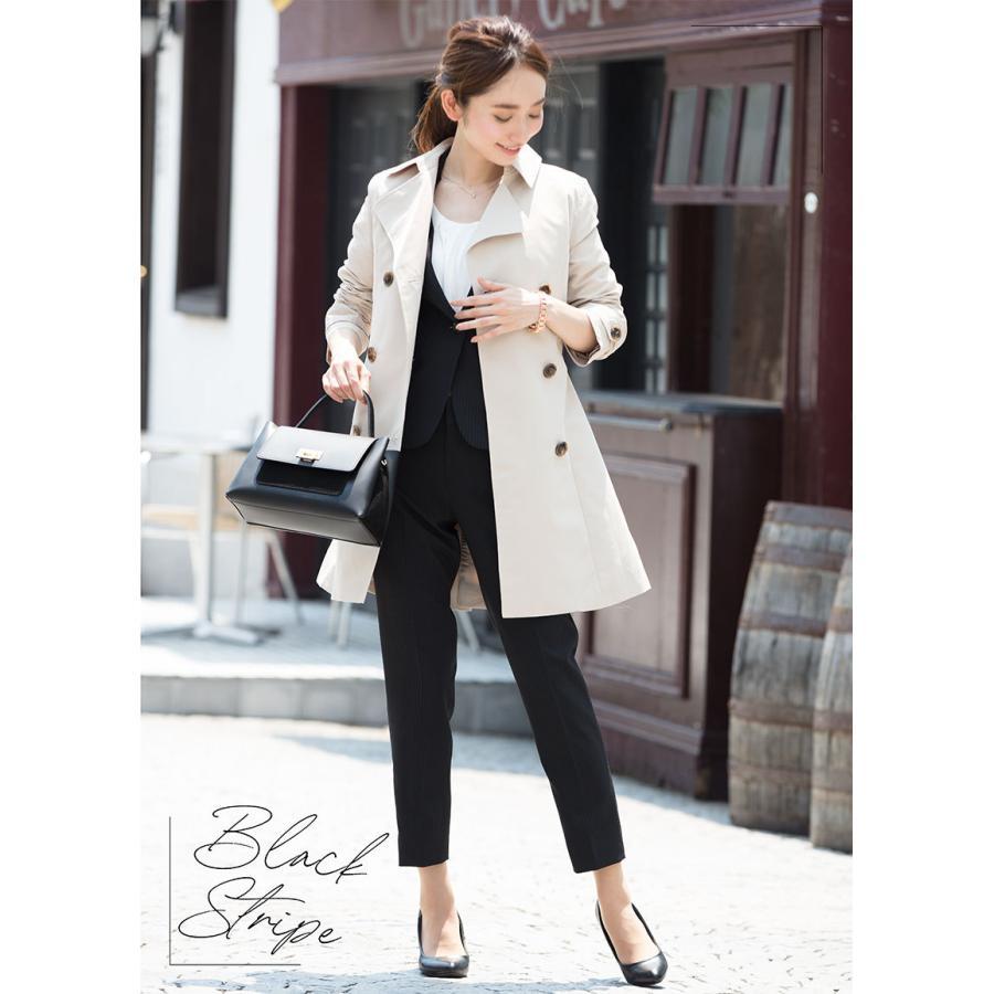 スーツ レディース パンツスーツ ビジネス リクルート ビジネス OL テーラード フルレングス丈 ストレッチ 女性 面接 大きいサイズ 小さいサイズ sutekitaiken 17