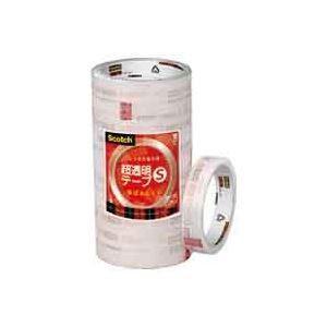 (業務用30セット) スリーエム 3M 超透明テープS BK-18N 工業用包装10巻