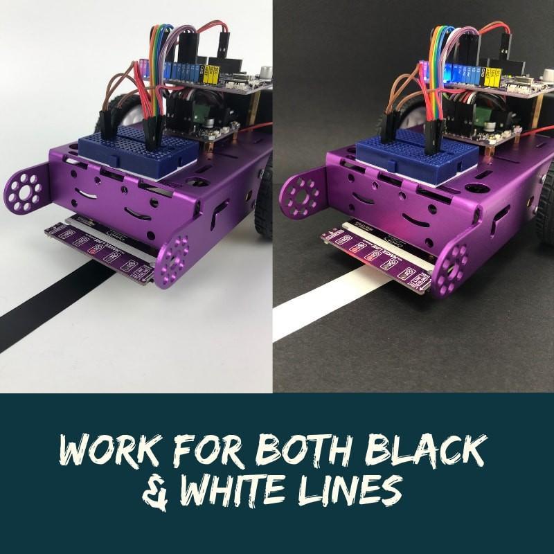 Cytron Maker Line: 初心者向けシンプルラインセンサ suzakulab 10