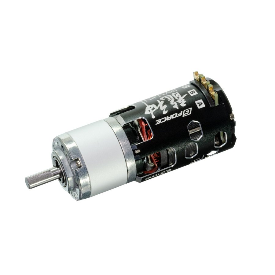 G Force Ryujin 8.5T Brushless Motor + IG32 1/19 Dカット 6mm軸 オールメタル仕様
