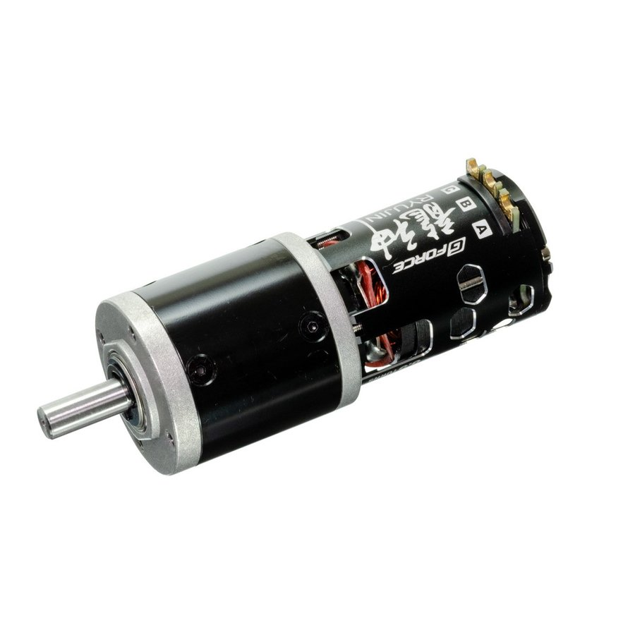 G Force Ryujin 8.5T Brushless Motor + IG42C 1/104 丸軸 オールメタル仕様