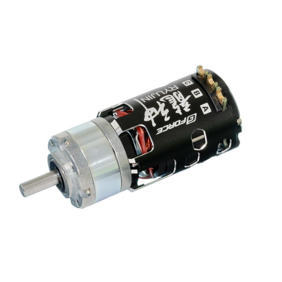 G Force Ryujin 10.5T Brushless Motor + IG32 1/4 Dカット 6mm軸