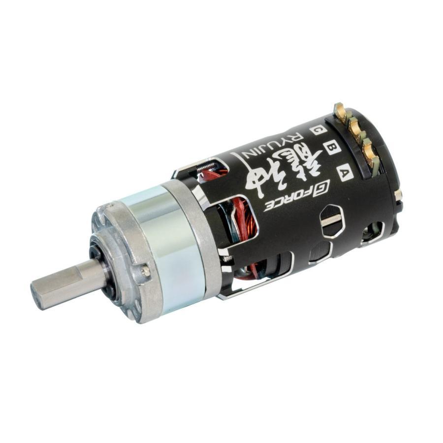 G Force Ryujin 10.5T Brushless Motor + IG32 1/5 Dカット 8mm軸 オールメタル仕様