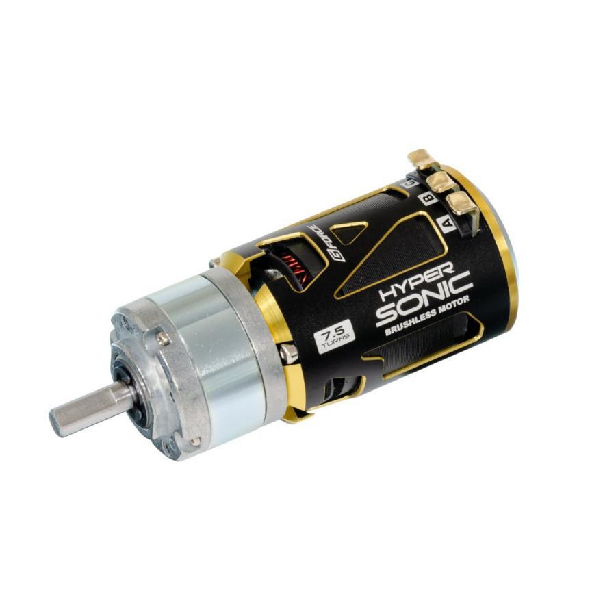 G Force Hyper Sonic 5.5T BrushlessMotor + IG32 1/4 Dカット 6mm軸 オールメタル仕様