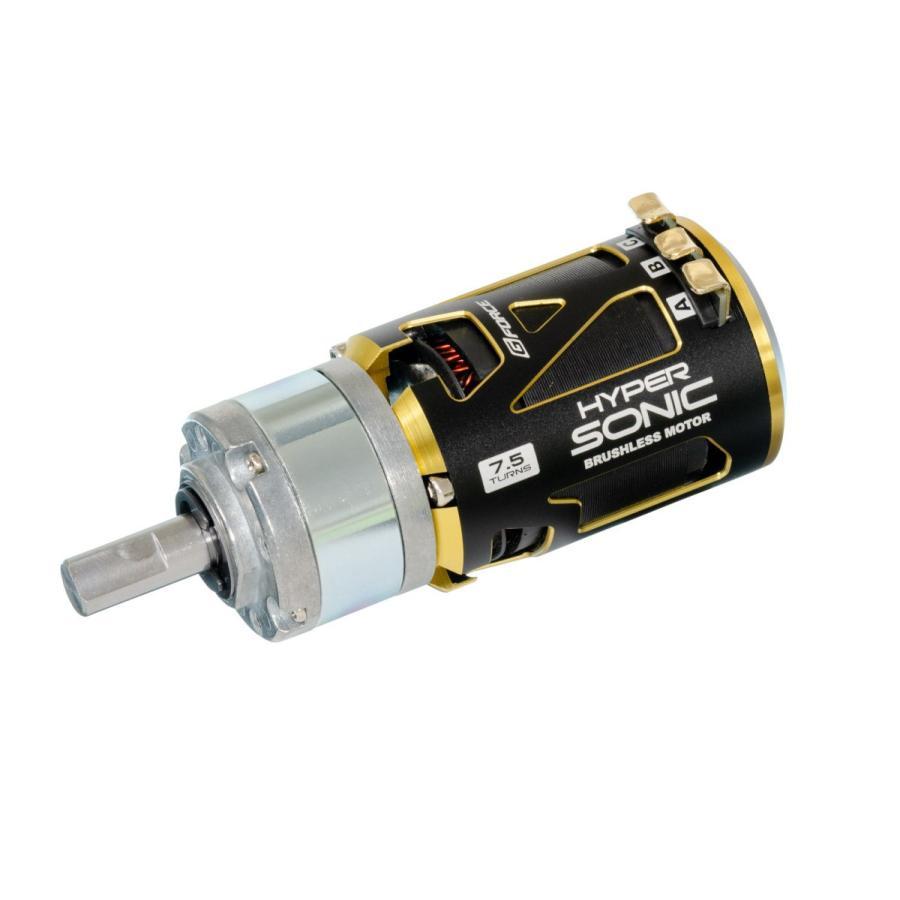 G Force Hyper Sonic 10.5T BrushlessMotor + IG32 1/5 Dカット 8mm軸 オールメタル仕様
