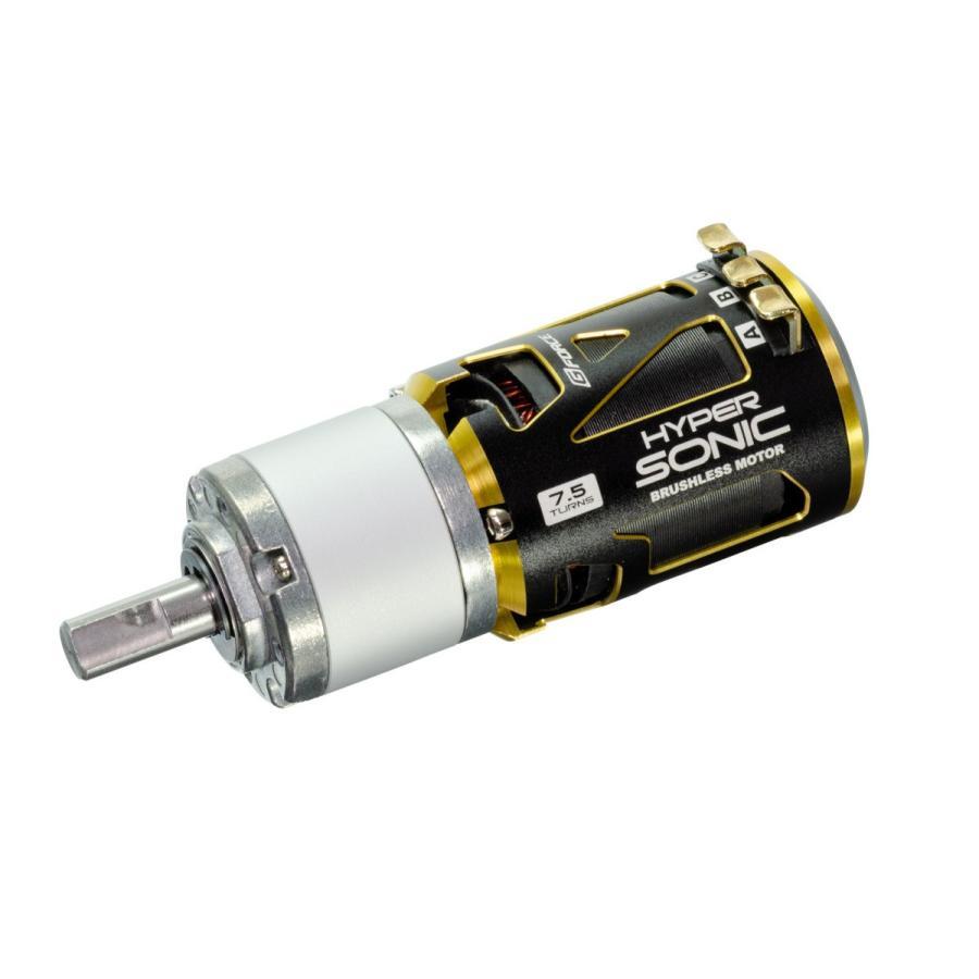 G Force Hyper Sonic 10.5T BrushlessMotor + IG32 1/14 Dカット 8mm軸 オールメタル仕様