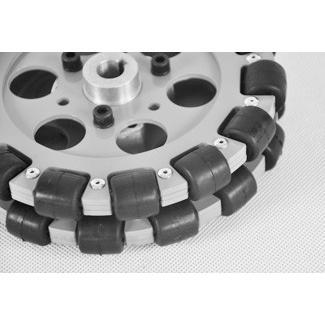HANGFA オムニホイール QL-15 直径152.4mm|suzakulab|05