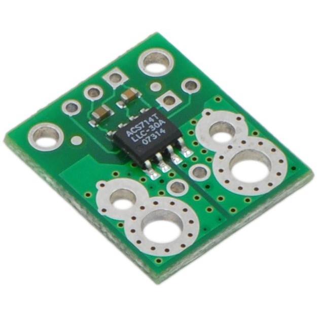 Pololu ACS714電流センサ -30A-+30A suzakulab