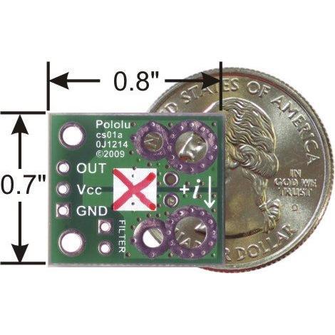 Pololu ACS714電流センサ -30A-+30A suzakulab 02