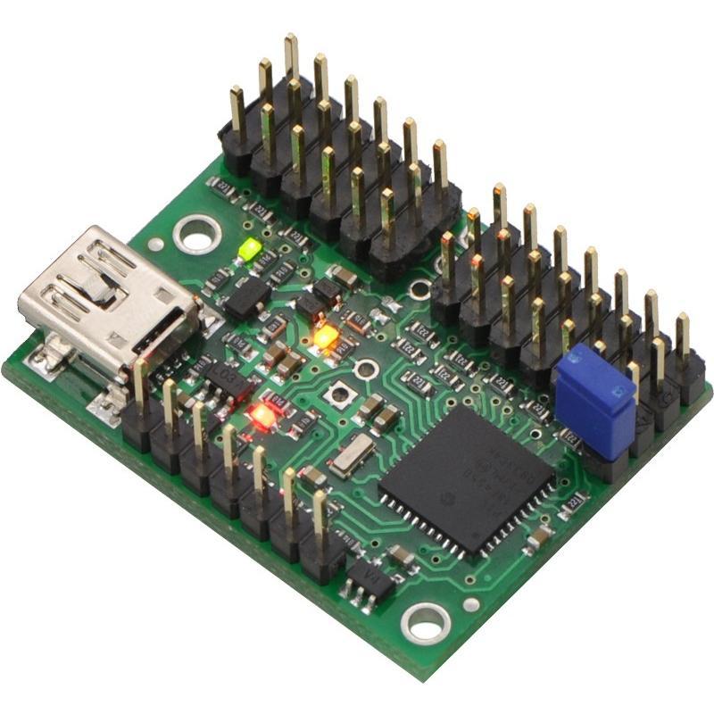 Pololu Mini Maestro 12チャンネル USBサーボコントローラ (組立済み) suzakulab