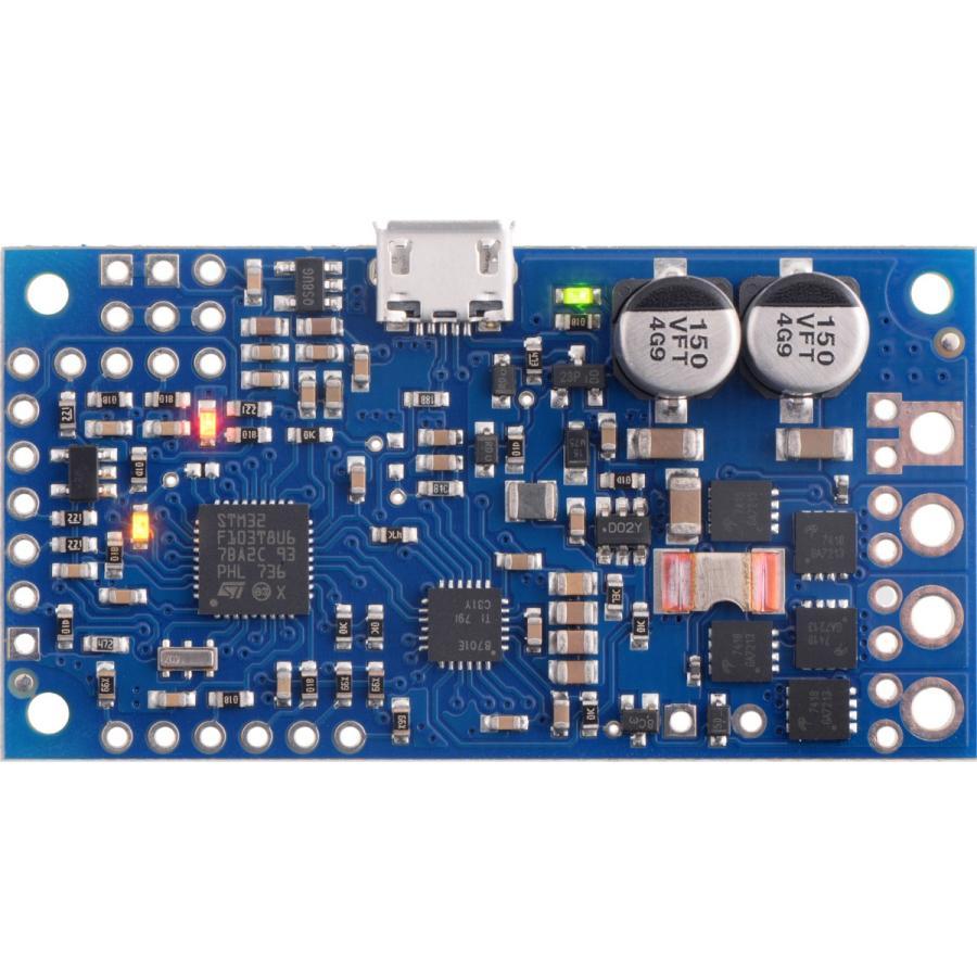 Pololu ハイパワーシンプルモータコントローラ G2 18v15 (実装済み)|suzakulab|02