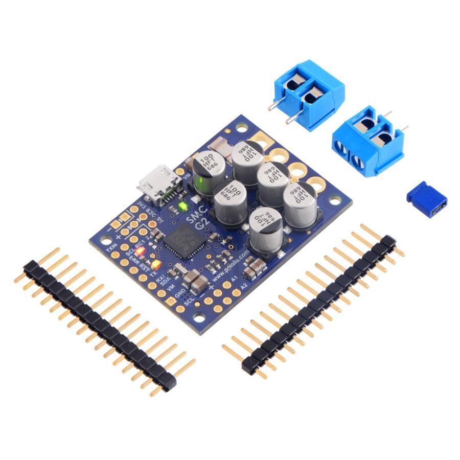 Pololu ハイパワーシンプルモータコントローラ G2 24v19