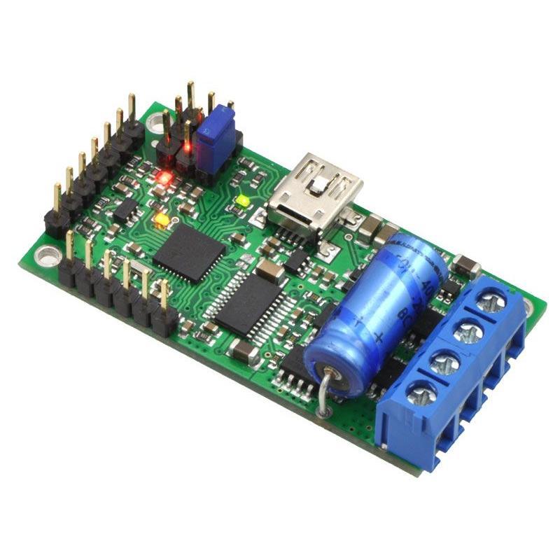Pololu ハイパワーシンプルモータコントローラ 18v15 (実装済み)