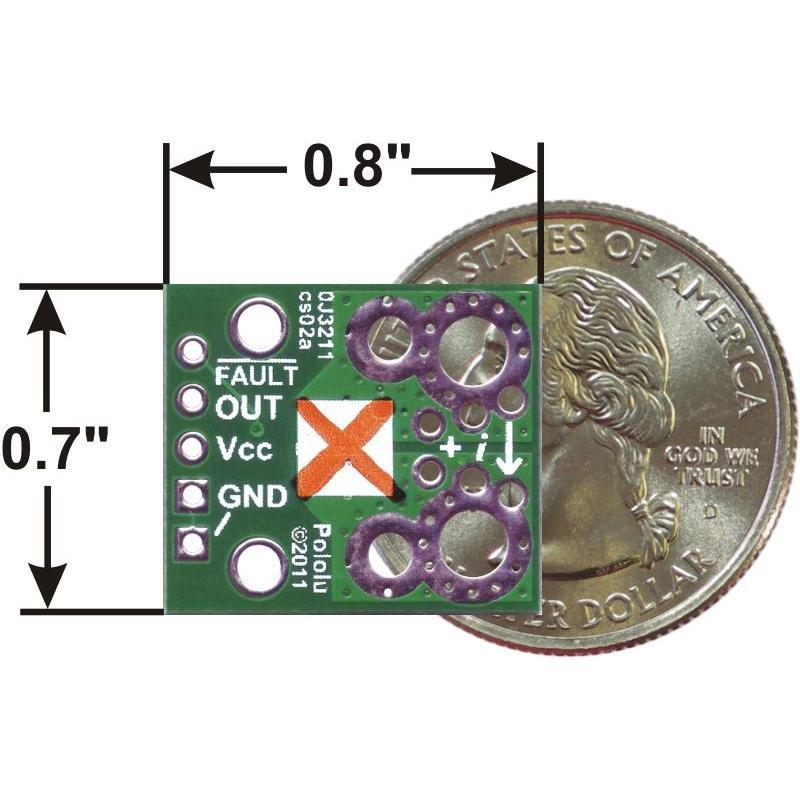 Pololu ACS711LC 電流センサ -25A-+25A suzakulab 04