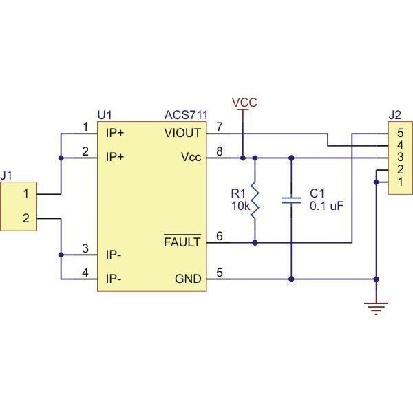 Pololu ACS711LC 電流センサ -25A-+25A suzakulab 05
