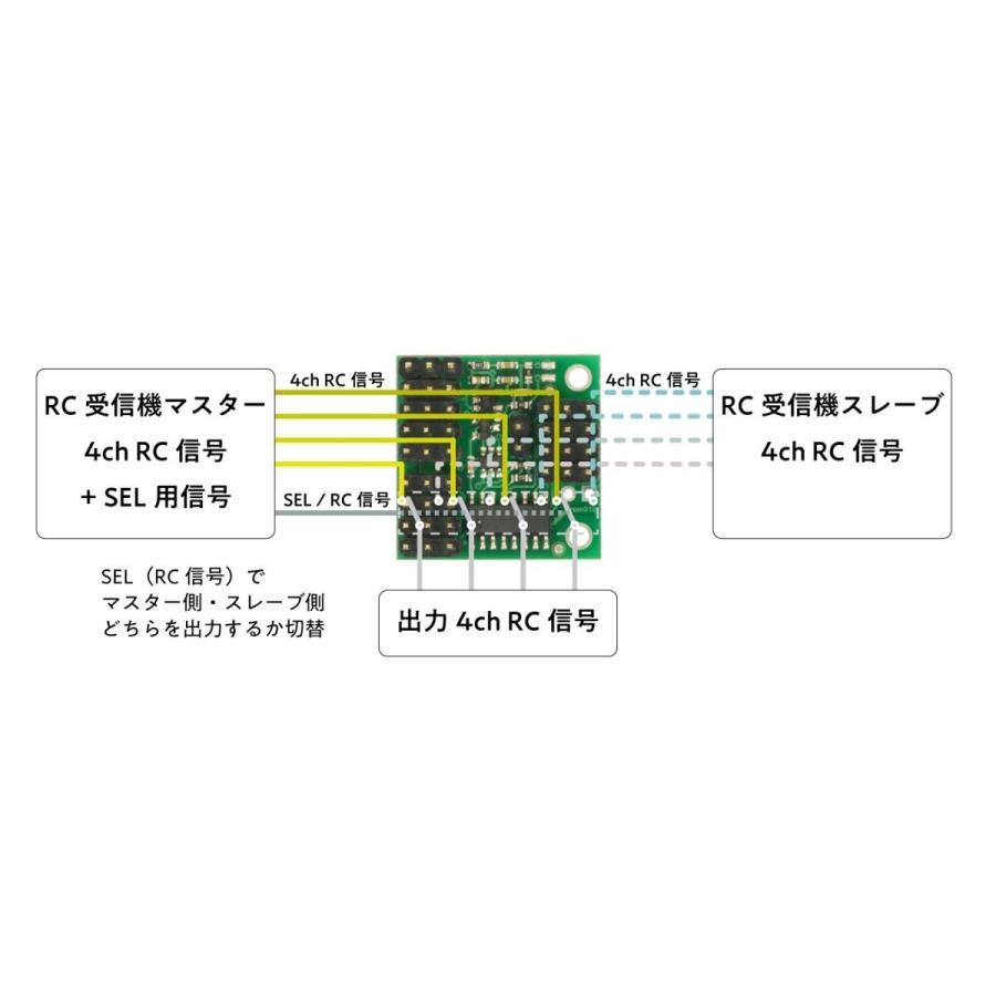 Pololu 4-チャンネル RC サーボ マルチプレクサー (組立て済み) suzakulab 03