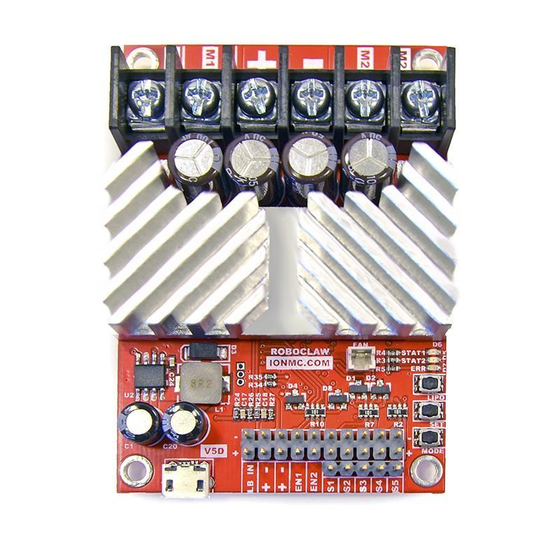 Pololu Ion Motion Control RoboClaw 2x7A Motor Controller V5C 3284