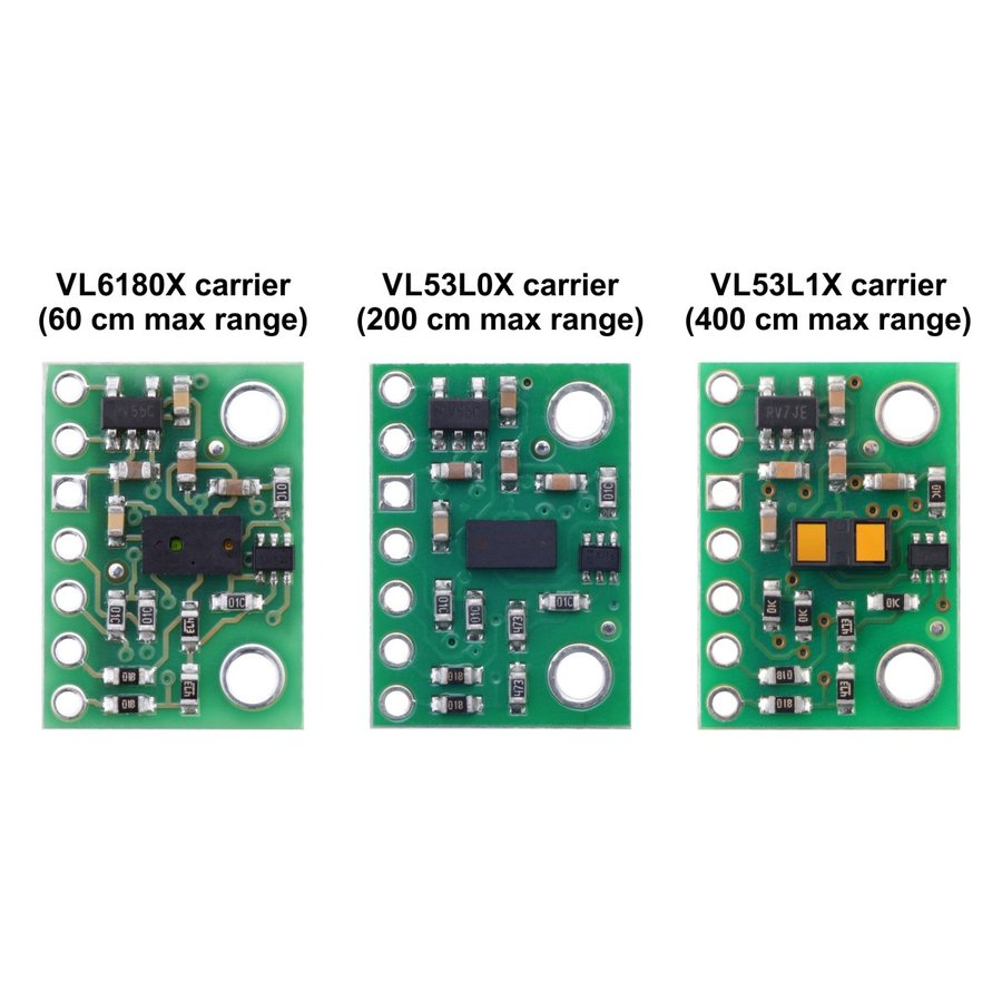 Pololu Time of Flight光学測距モジュール(最大4m) VL53L1X 定電圧レギュレータ付き|suzakulab|09