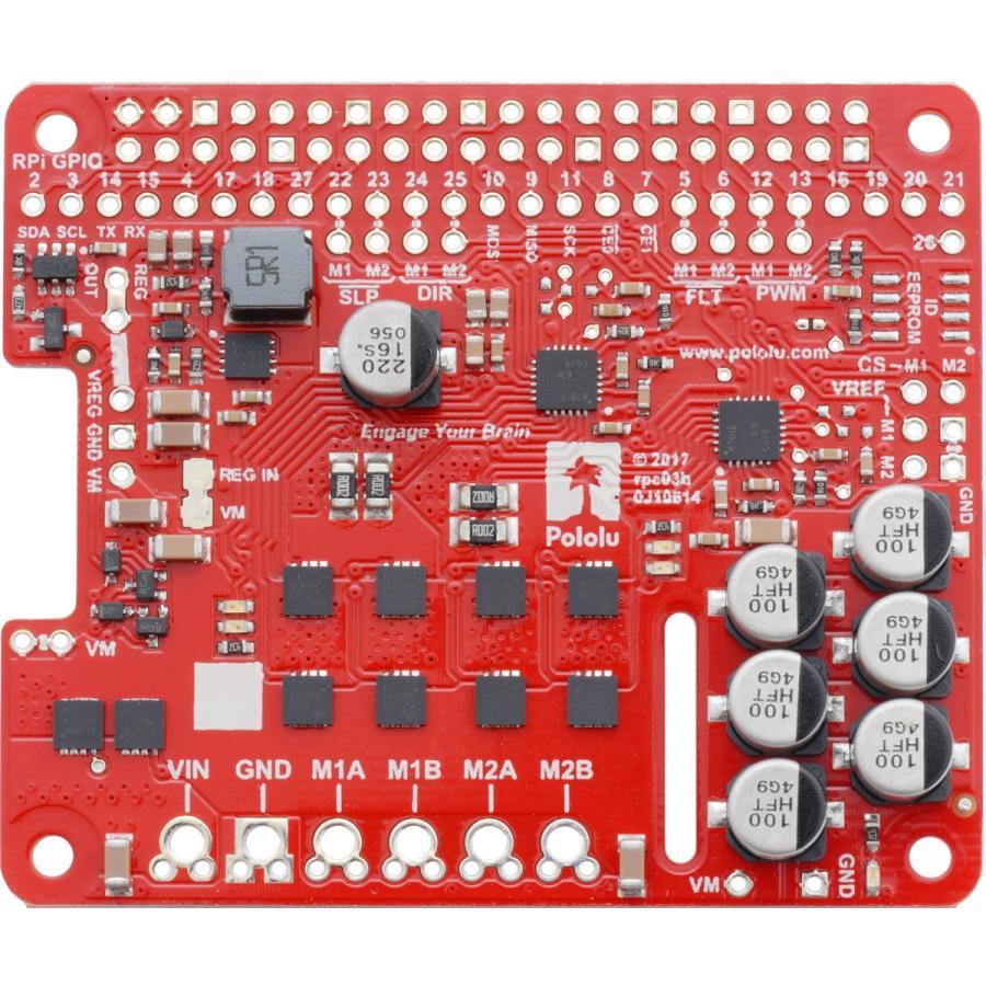 Pololu Raspberry Pi対応デュアルG2ハイパワーモータドライバ 24v14 (パーツキット)|suzakulab|04