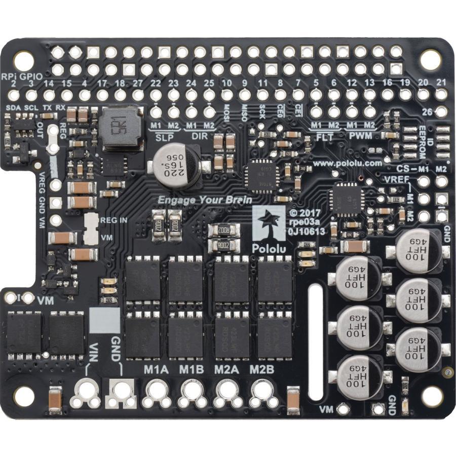 Pololu Raspberry Pi対応デュアルG2ハイパワーモータドライバ 24v18 (パーツキット)|suzakulab|04