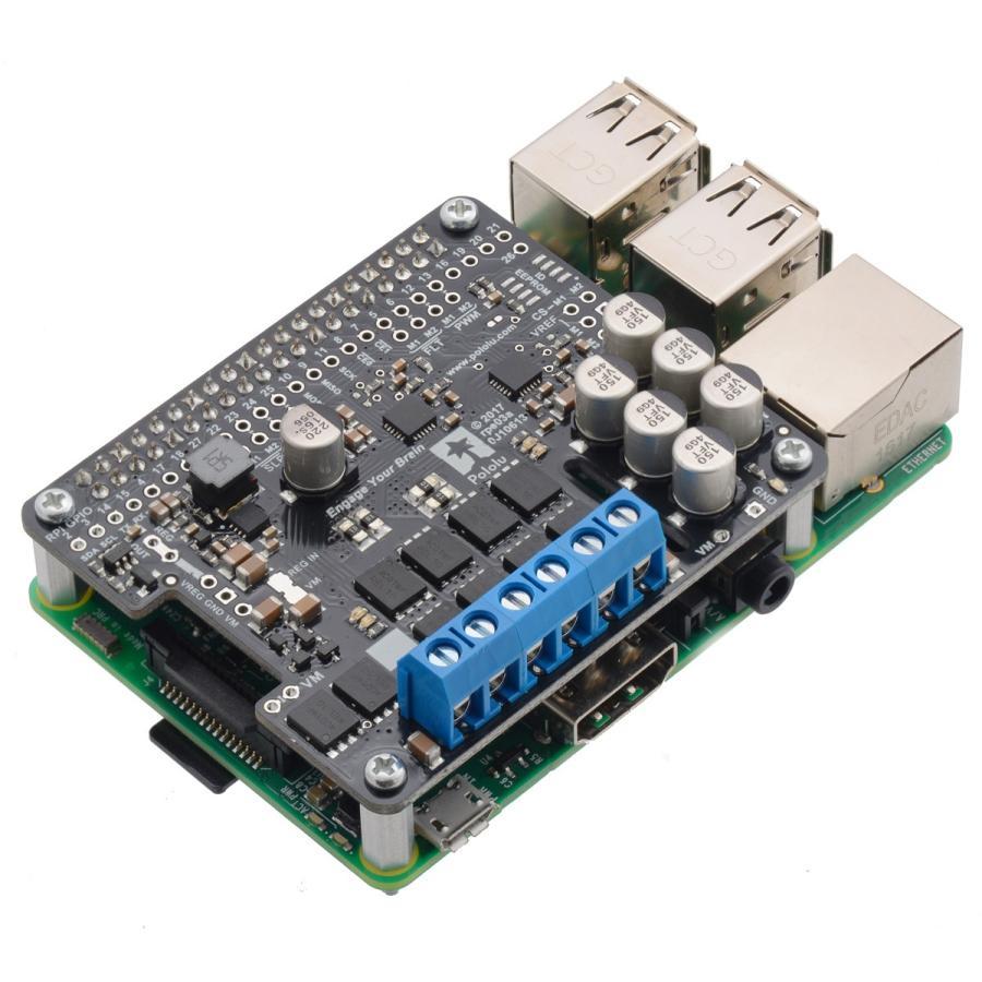 Pololu Raspberry Pi対応デュアルG2ハイパワーモータドライバ 24v18 (パーツキット)|suzakulab|07