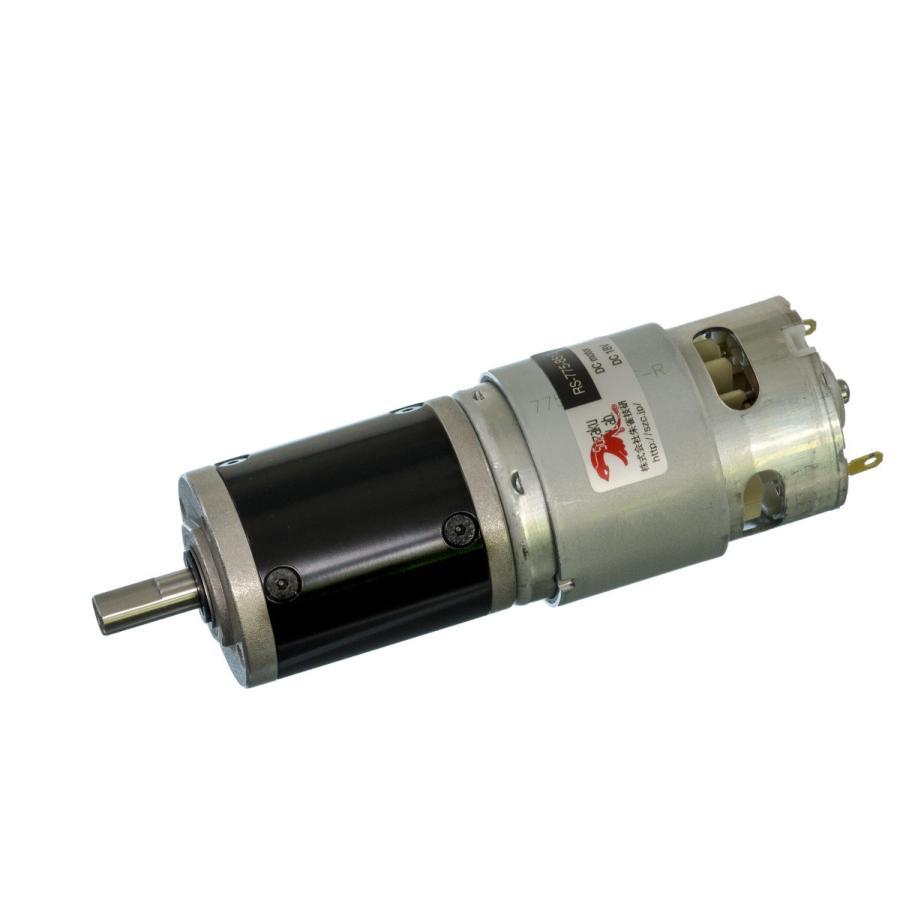 小型DCギヤードモータ RS-775GM294-METAL-D Dカット軸・初段金属ギヤ仕様