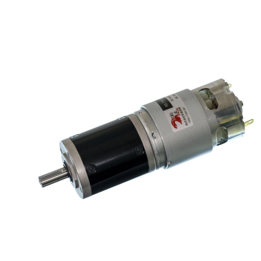 小型DCギヤードモータ RS-775GM294-METAL-KEY キー溝軸・初段金属ギヤ仕様