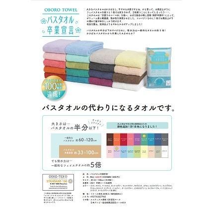 バスタオル卒業宣言(6枚以上お求めの方限定) 33×100cm超吸水タオル (コンパクトで携帯用にスポーツタオルに) 吸水タオル おぼろタオル|suzukei|02