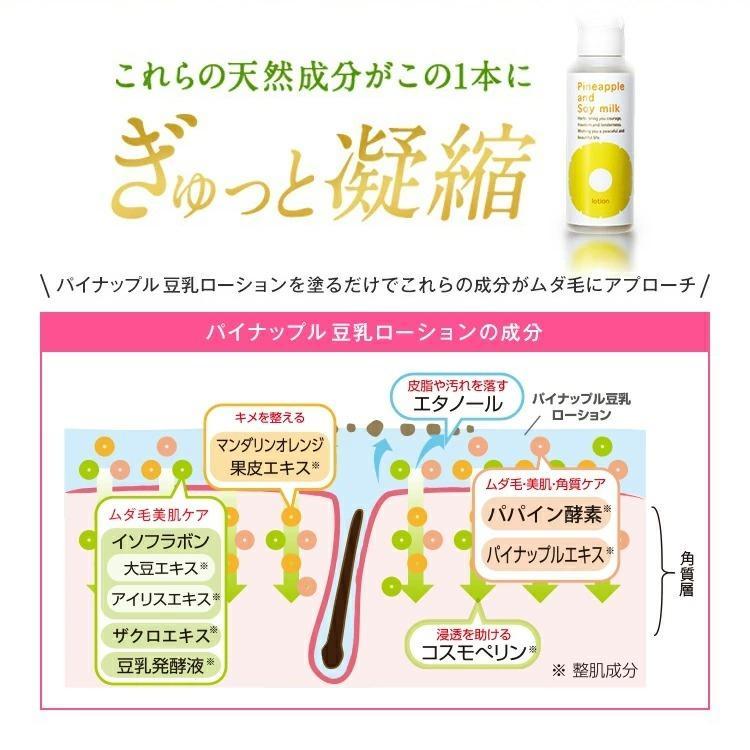 鈴木ハーブ研究所 パイナップル豆乳ローション ボディローション 男性 女性 メンズ レディース 子供 子ども デリケート 子供 乾燥 敏感肌|suzuki-herb|11