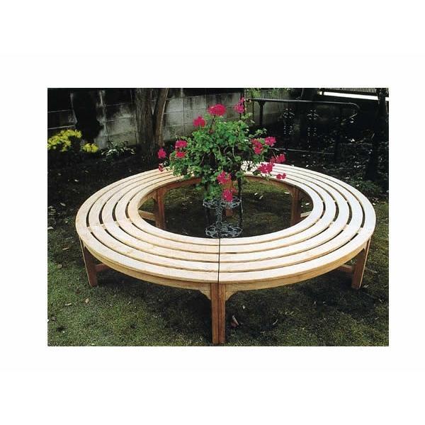 ガーデンファニチャー ラウンドベンチ2型