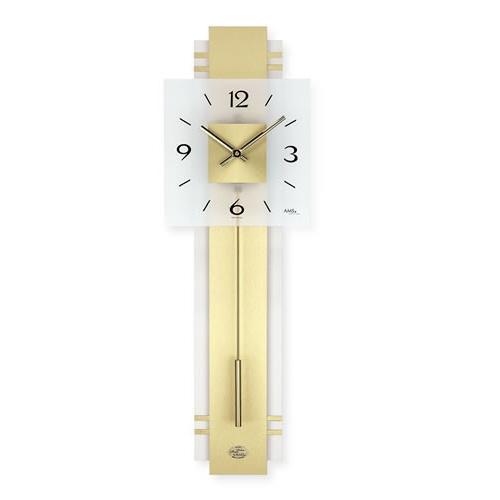 輸入時計 AMS(アームス社ドイツ製)クォーツ·壁掛け時計 AMS-7301