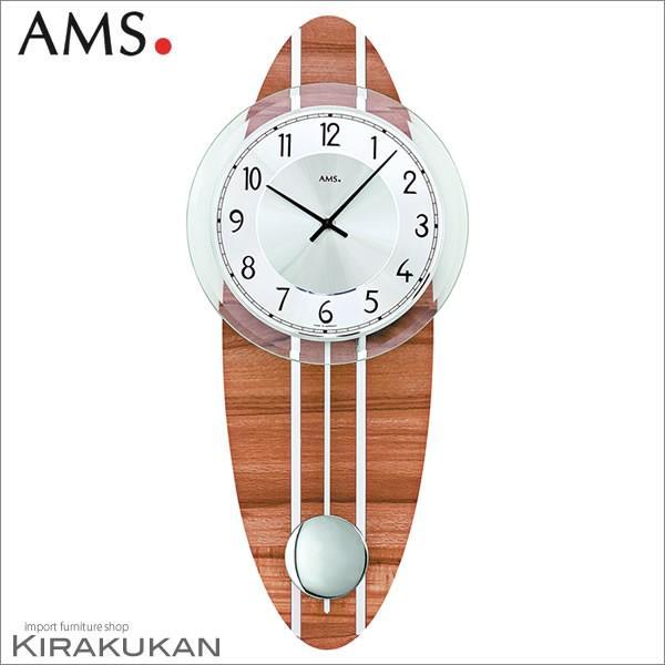 壁掛け時計 AMS(アームス社ドイツ製) AMS-7419