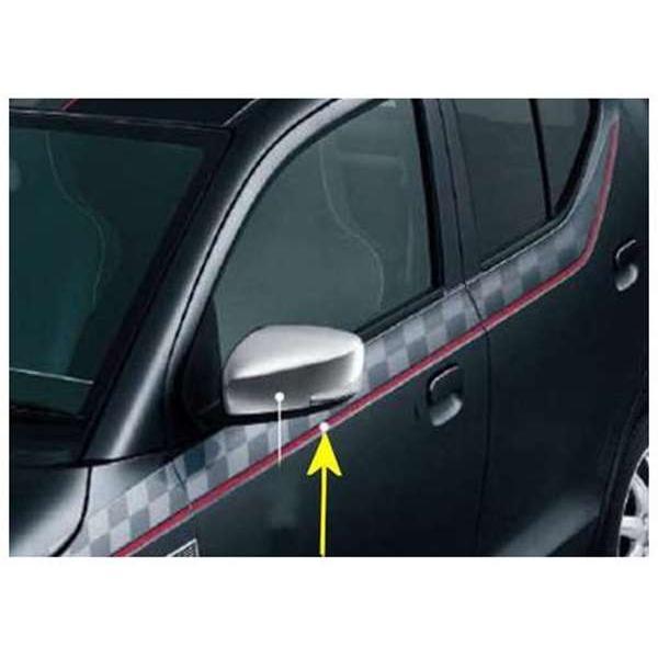 アルトワークス サイドデカール チェッカー *ステッカーのみ  スズキ純正部品 パーツ オプション|suzukimotors2