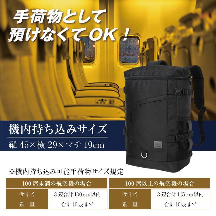 SWISSWIN リュック ビジネス メンズ ボックスリュック メンズ 耐水 ファスナー 通学 通勤 大容量 A4書類収納可 ブラック おしゃれ ビジネスバッグカジュアル|suzumishop|13
