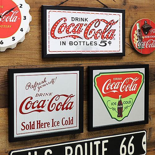 Coke (コカ・コーラ) ガレージ・ミラー COCA-COLA ICE COLD CC-CA-GM-189956|swam|03