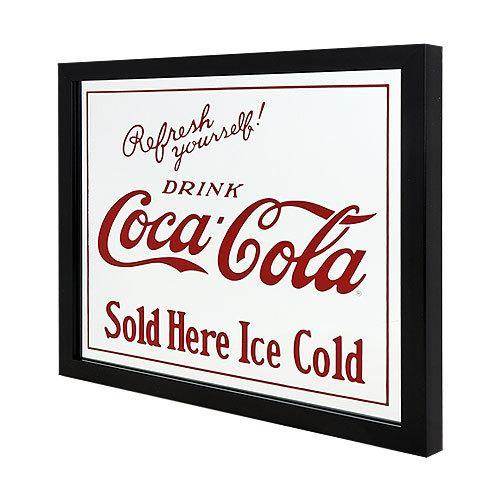 Coke (コカ・コーラ) ガレージ・ミラー COCA-COLA SOLD HERE  CC-CA-GM-189957|swam