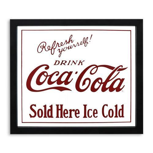 Coke (コカ・コーラ) ガレージ・ミラー COCA-COLA SOLD HERE  CC-CA-GM-189957|swam|02